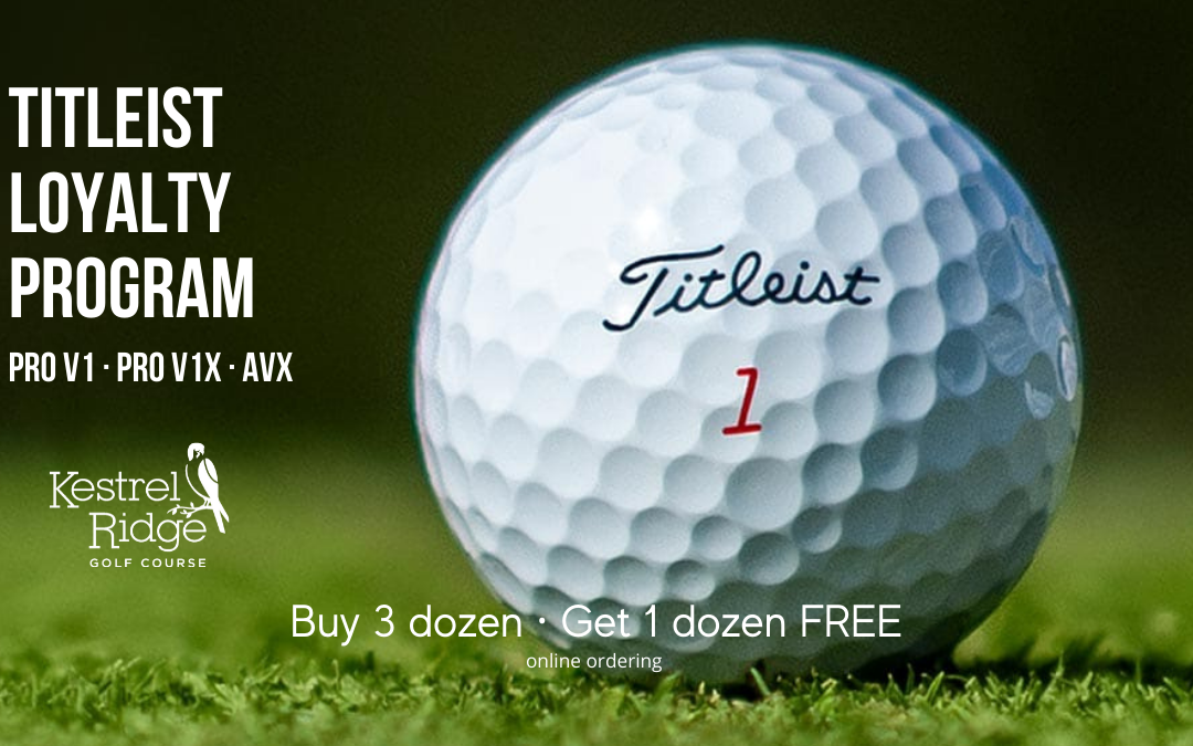 SPECIAL OFFER FROM TITLEIST