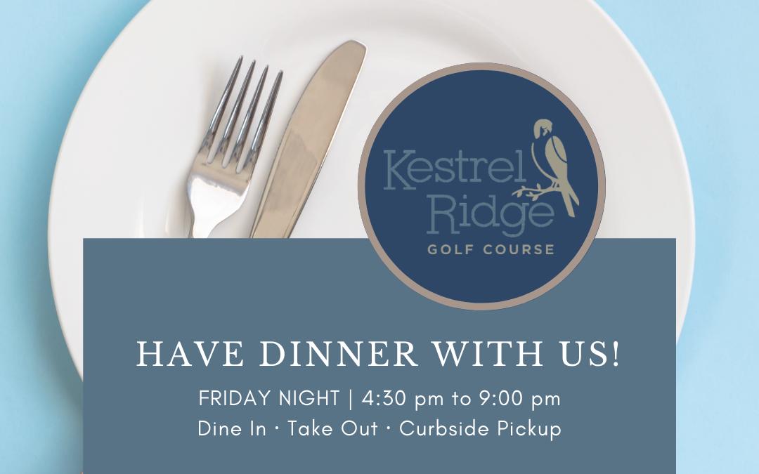 Friday Night Dinner Specials