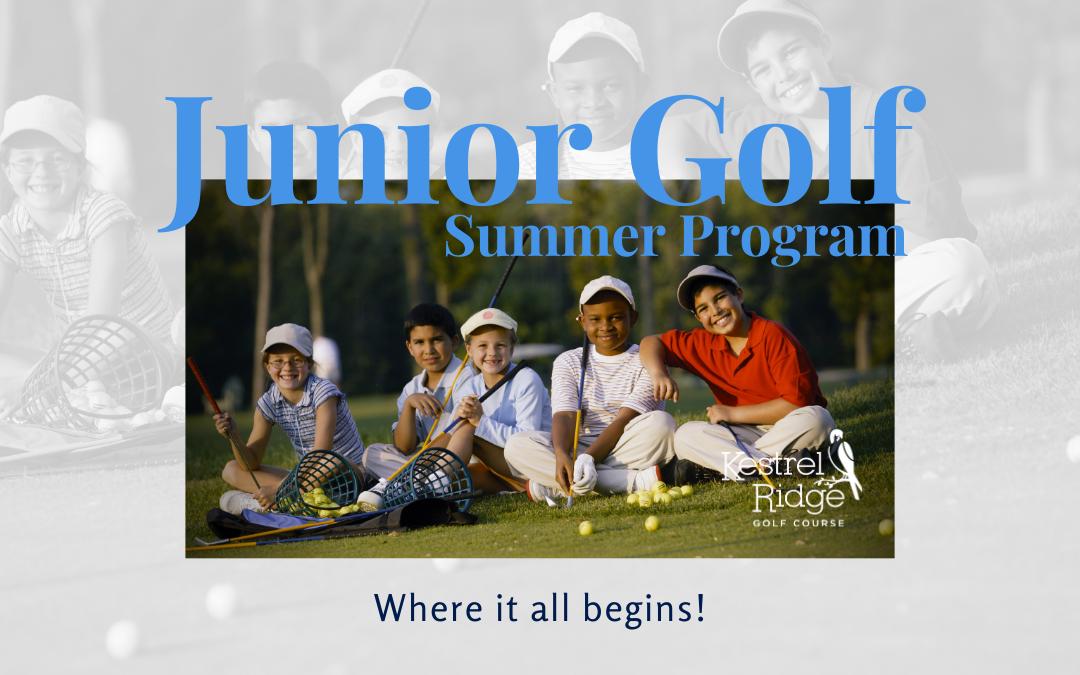 Junior golf summer program